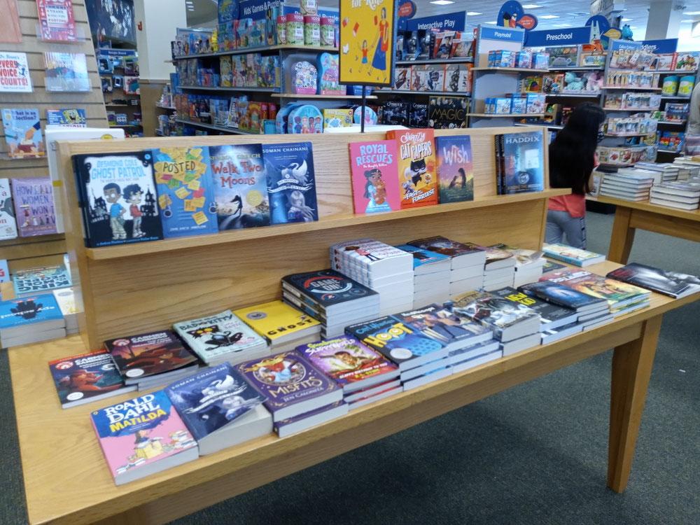 夏休み読書プログラム @Barnes & Noble