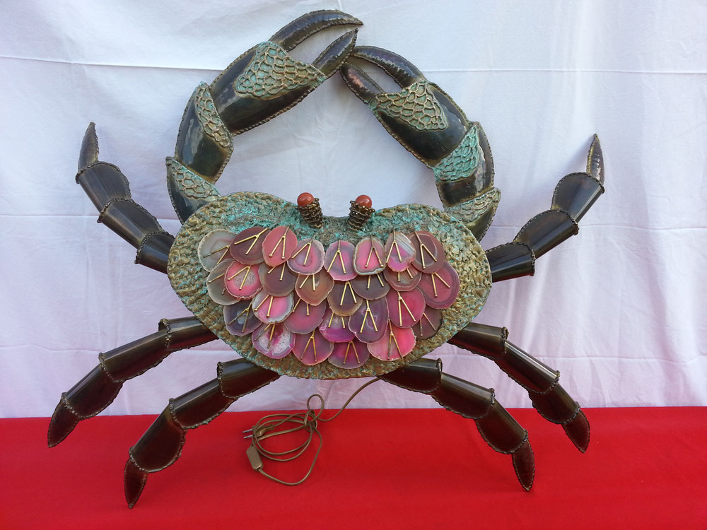 Richard FAURE Applique CRABE