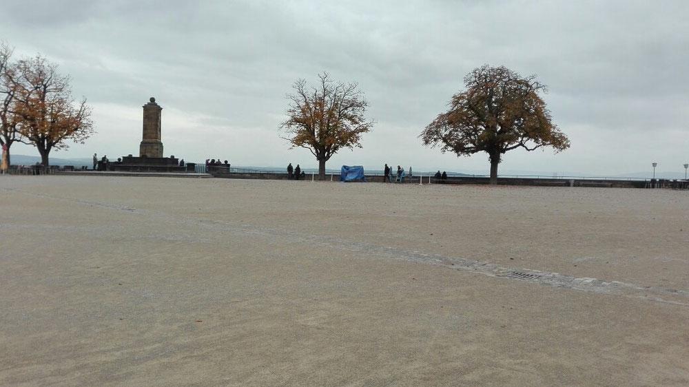 Platz in der Festung