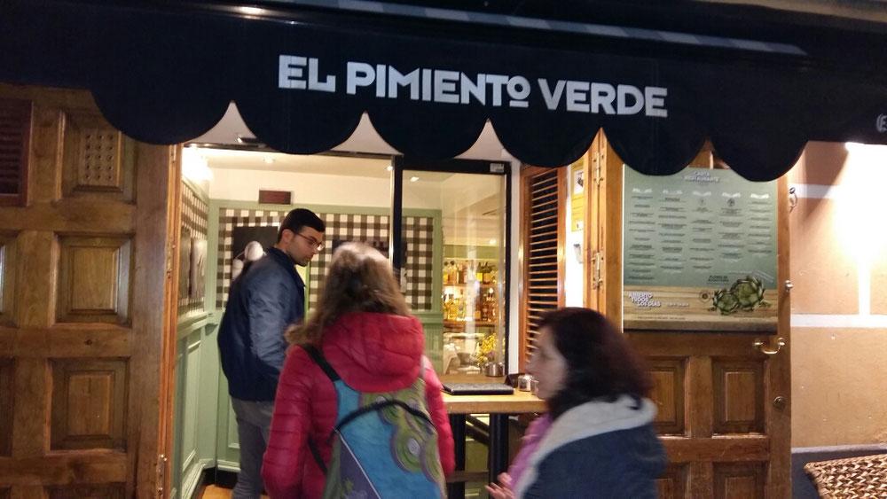 Restaurante El Pimiento Verde - Madrid