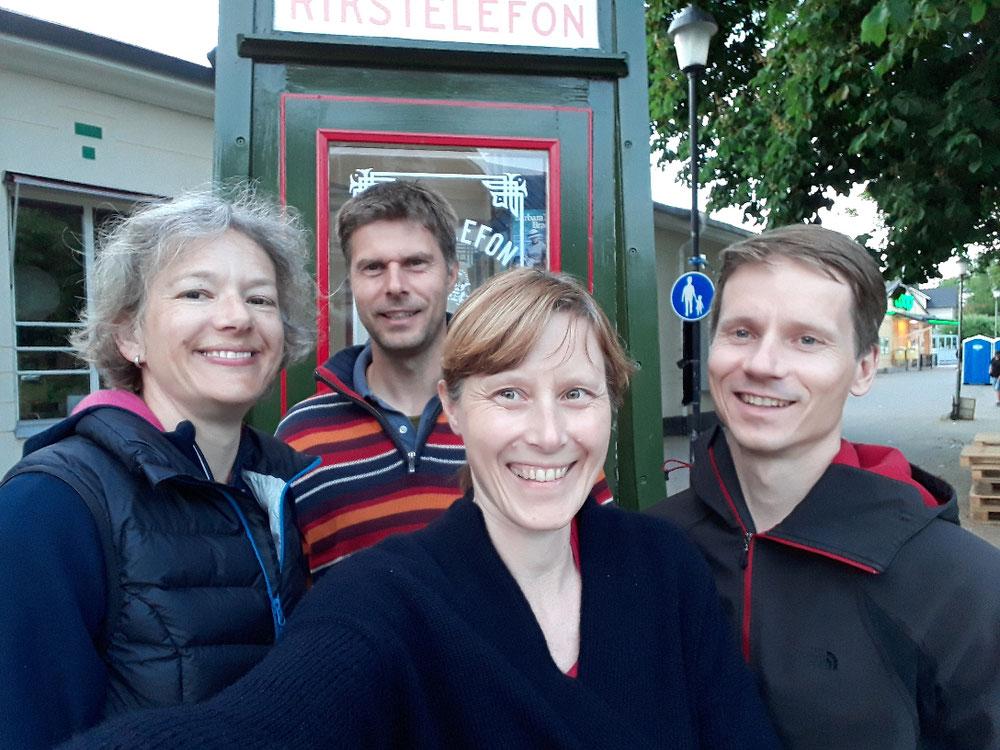 New crew from left me Morten, Christine & Thomas