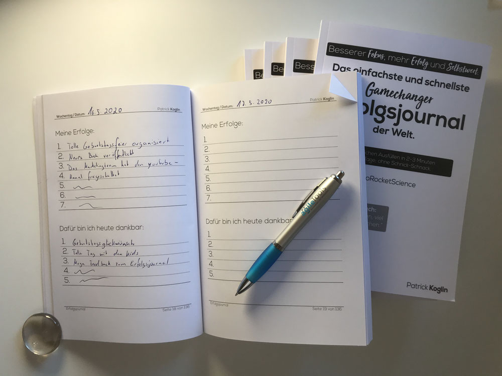 Selbstbewusstsein Trainieren Erfolgs Und Dankbarkeitsjournal