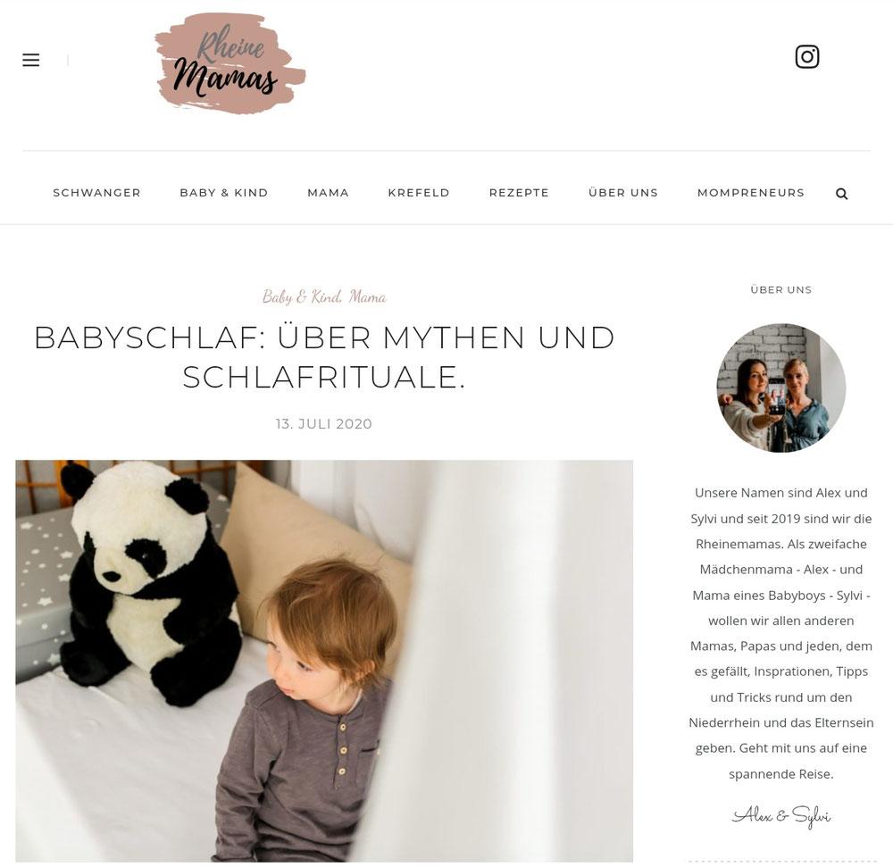 Alles Rund ums Thema Babyschlaf und Rituale