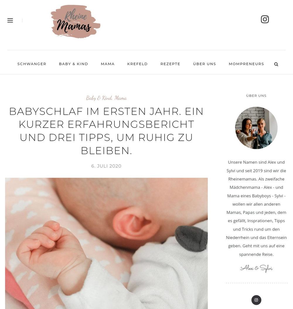 Babyschlaf im ersten Jahr