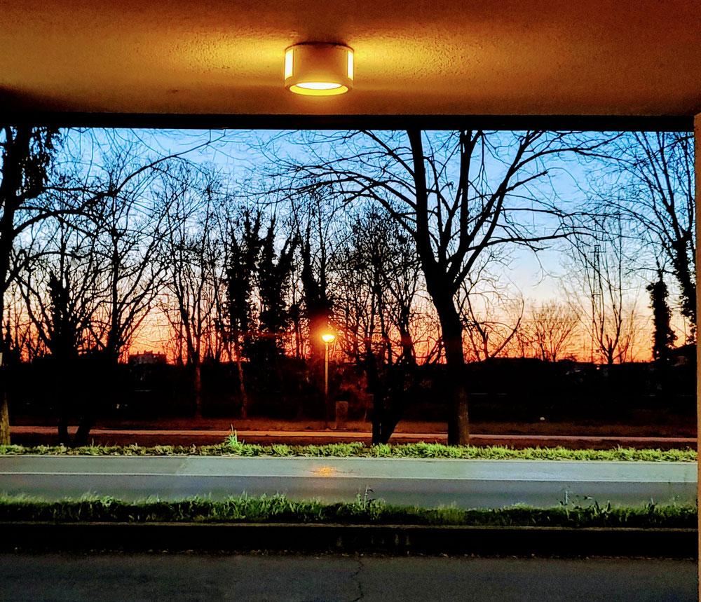 E, se sarai fortunato, all'uscita dello Studio Olistico Arcangelo Gabriel potrai trovare un fantastico tramonto!