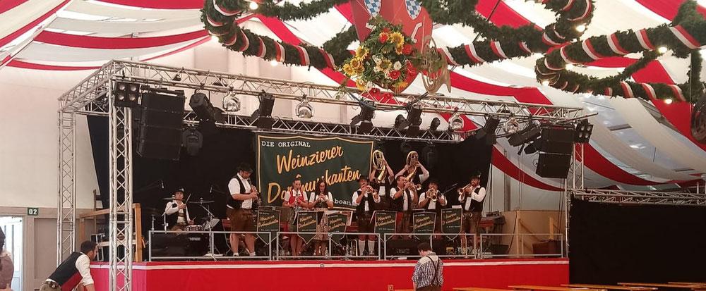 Gäubodenfest Straubing 2018, Festzelt Lechner