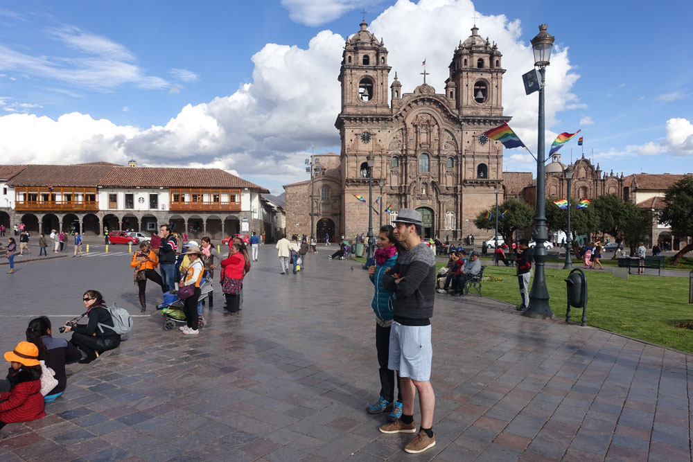 place d arme Cusco
