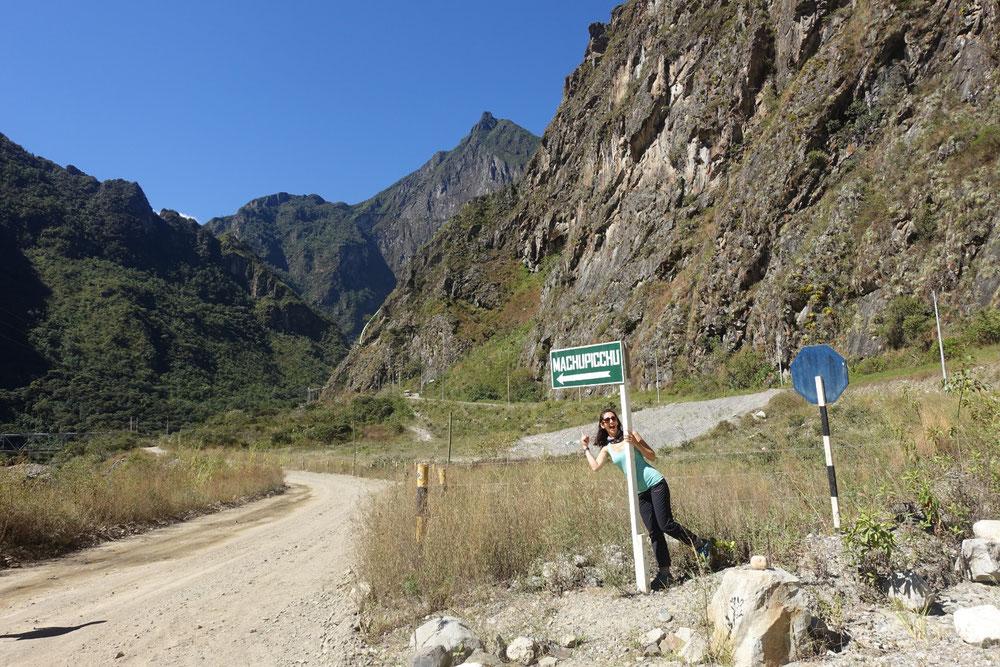 Panneau Machu Picchu