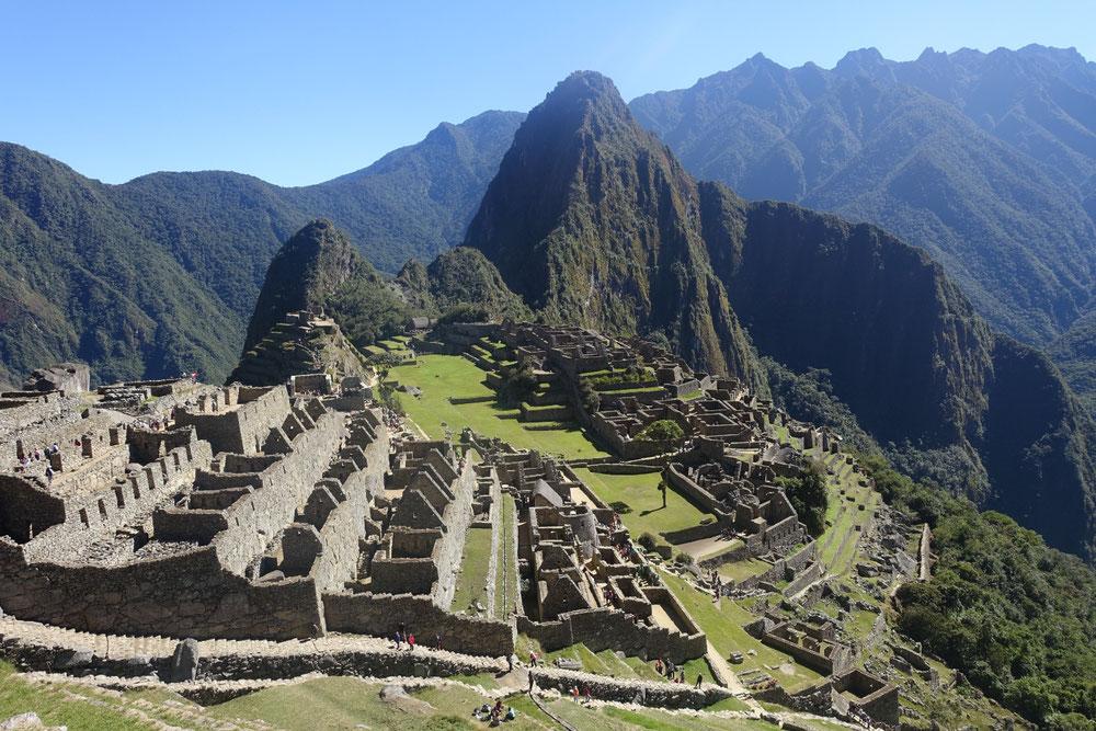 Machu Picchu vue clasique