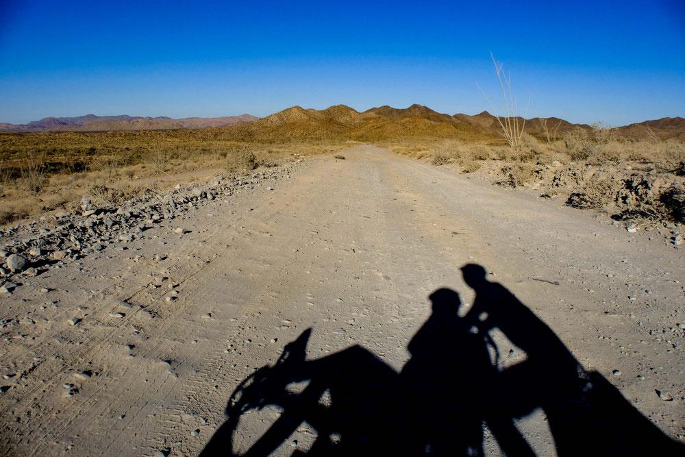 route non-asphalté de basse californie