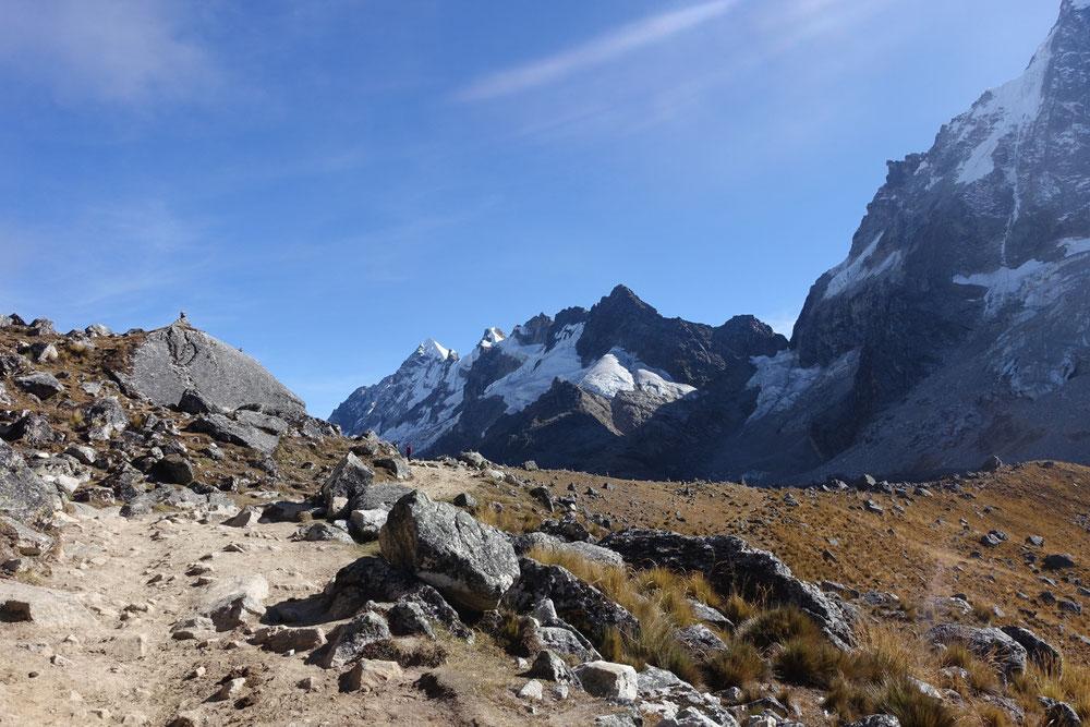 Salkantay trek -sommet à 4600m
