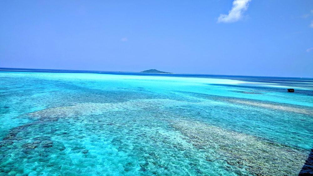 大神島を望む