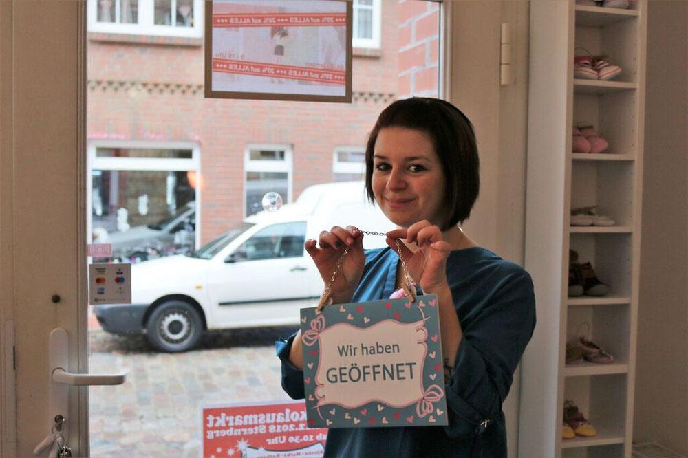 Seit einem Jahr öffnet Anika Glaser jeden Morgen ihren kleinen Laden.