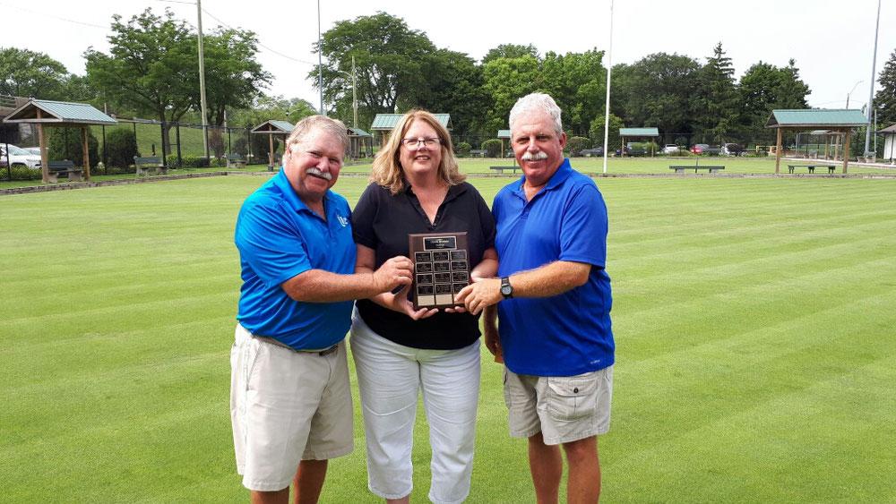Dennis Rawlins, Linda Hudson-Chapman (sponsor), Terry Fergusson