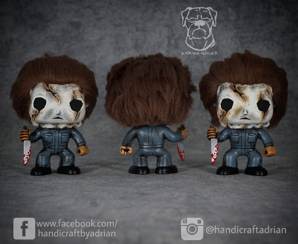 Custom Michael Myers Funko Pops