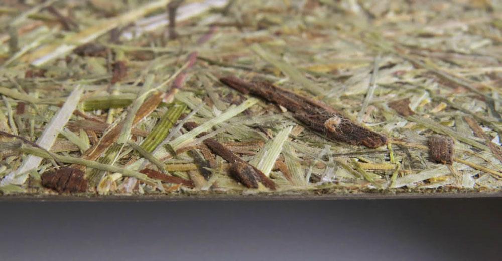 Dekorbeschichtung mit organischen Almheu & Vanille