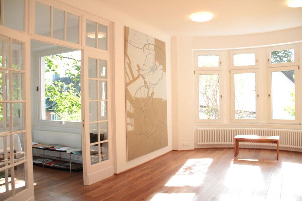 Räumlichkeiten der Hengesbach Galerie in Wuppertal