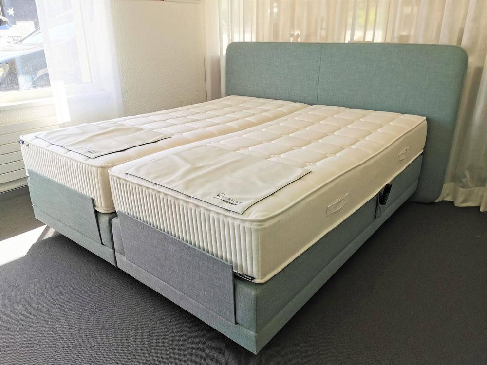 Bettenfachgeschäft, Bettenabverkauf, Ergonomie im Bett, Boxspringbett