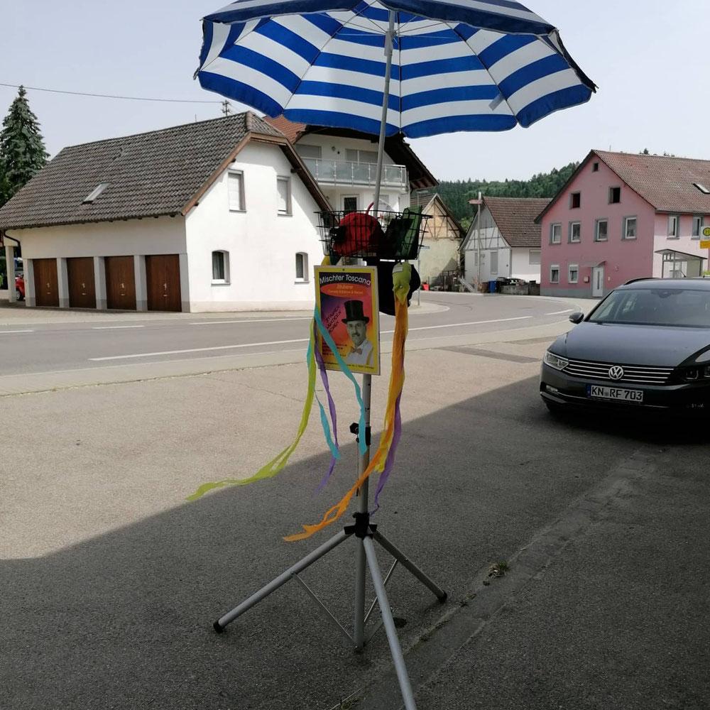 Bereit für den Auftritt am 3 und 4 Juli in Radolfzell am Bodensee