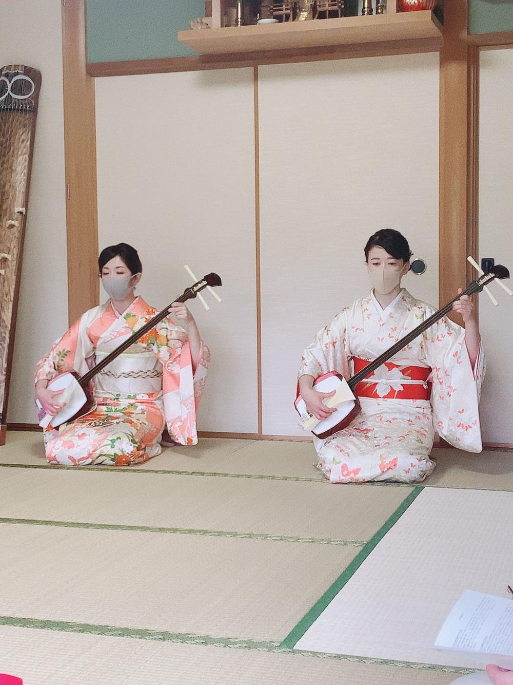 横浜市お琴  三絃教室  発表会