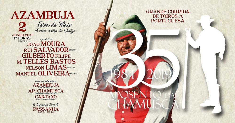 Feira de Maio, Corrida de Toiros à Portuguesa 2Junho - Azambuja