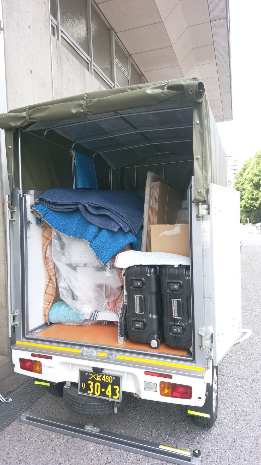 茨城県つくば市~広島県広島市へ精密機器の緊急配送