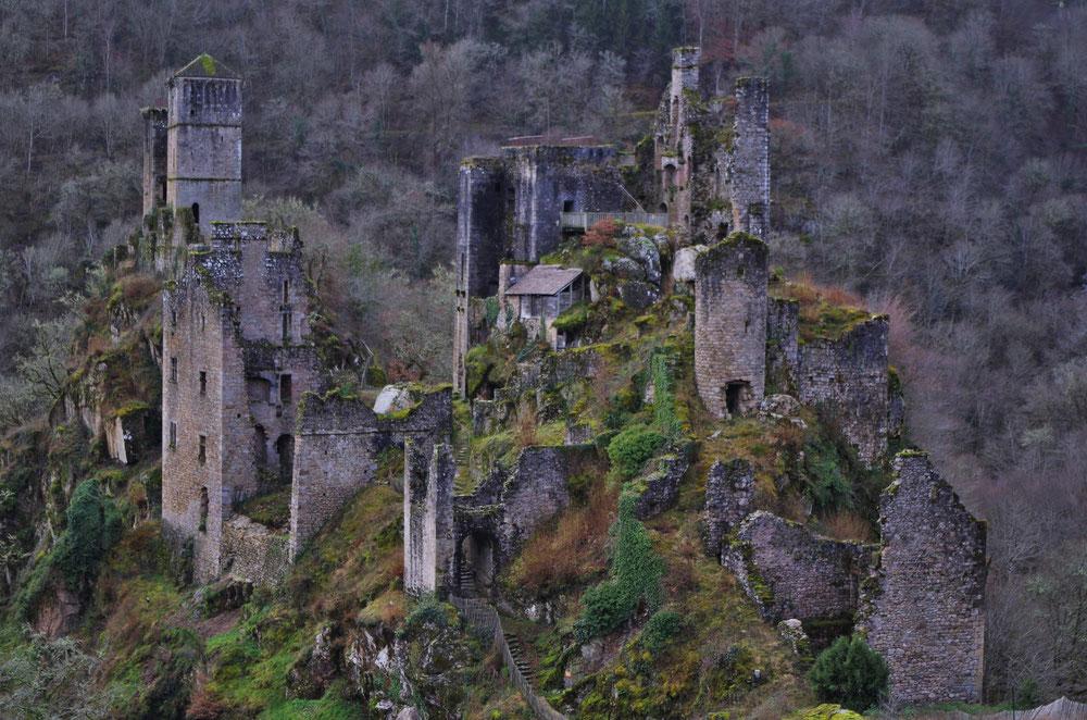 Des ruines en corrèze à couper le souffle