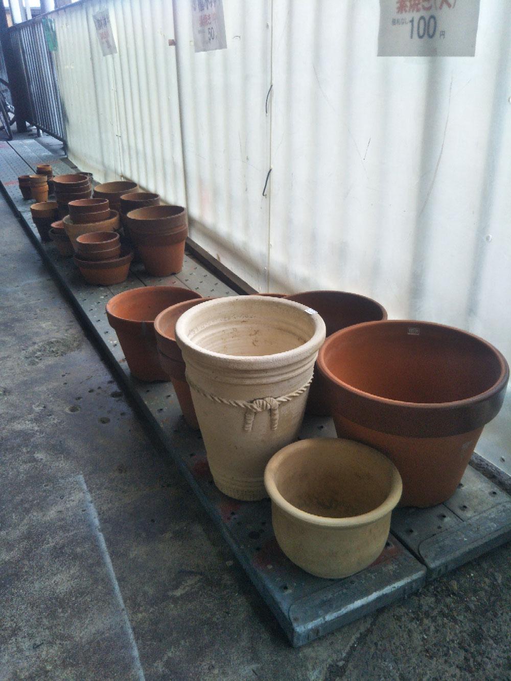 植木鉢 素焼