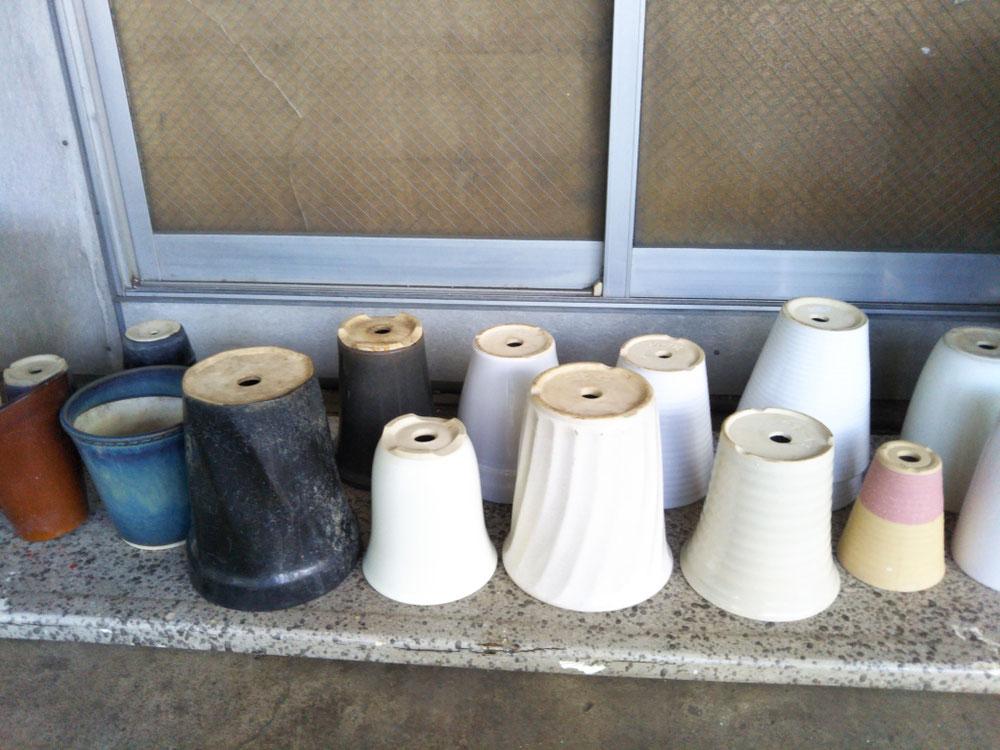 植木鉢 陶磁器