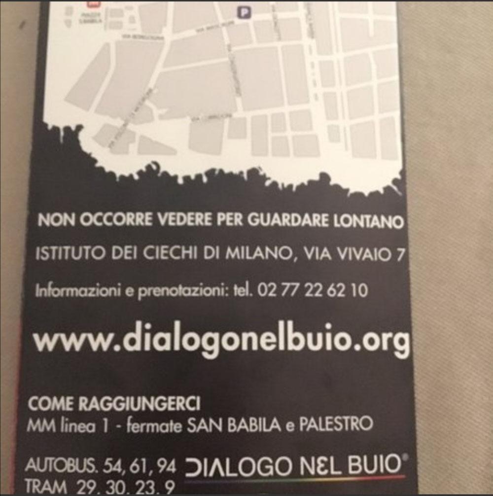 Dialogo nel Buio, Milano