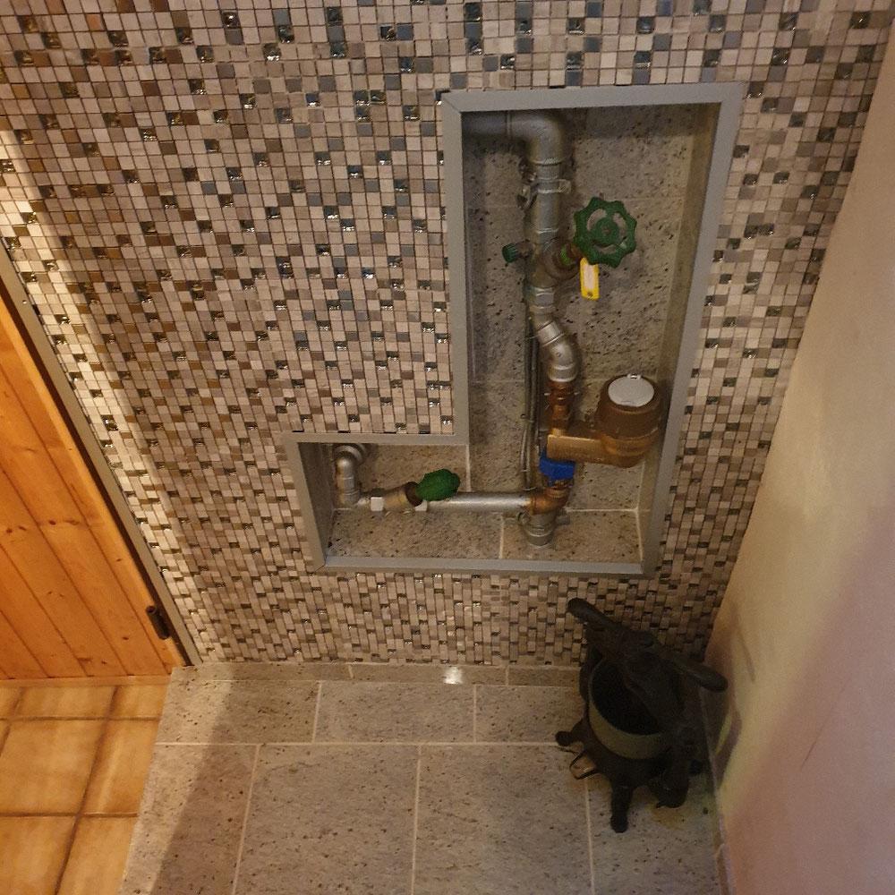 Schönster Hauswasseranschluss