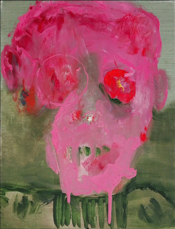 'Human' - Oil on linen canvas - 2020 - 27x35 cm