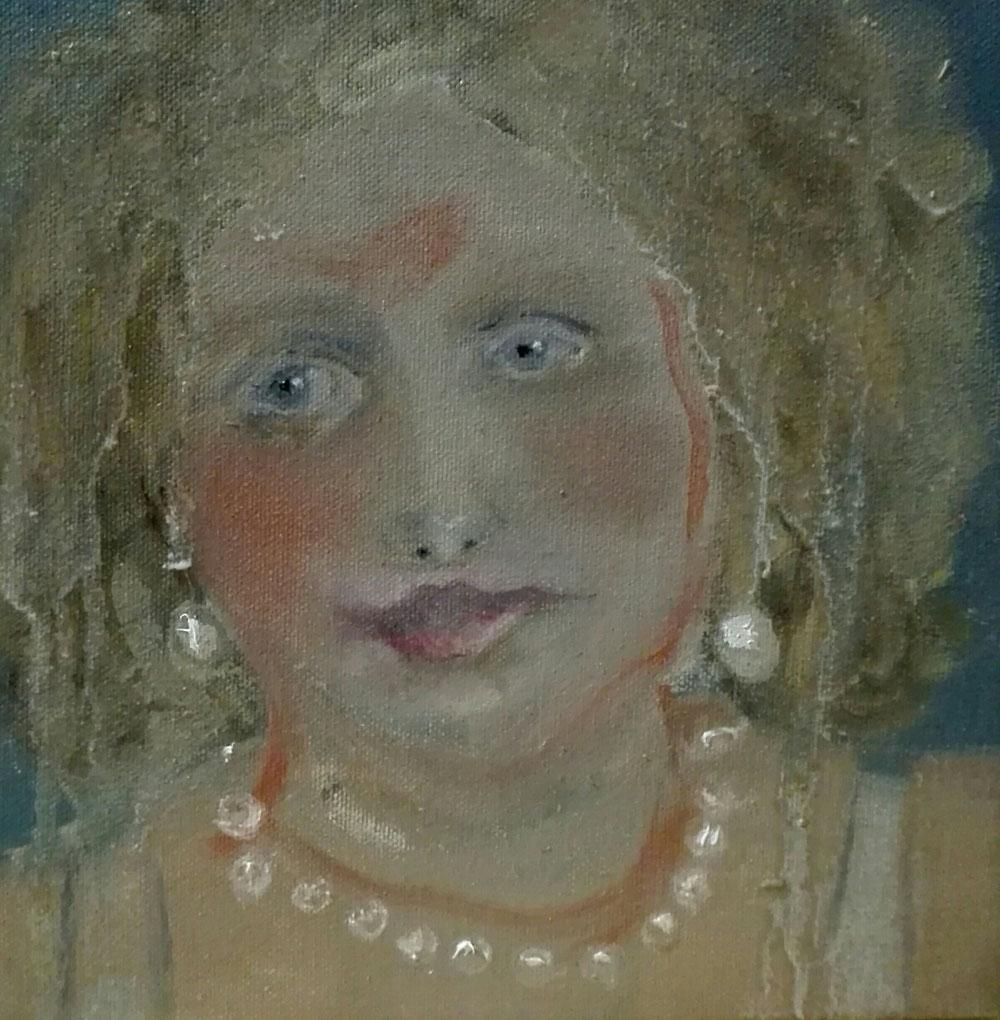 Oil on canvas 20x20cm