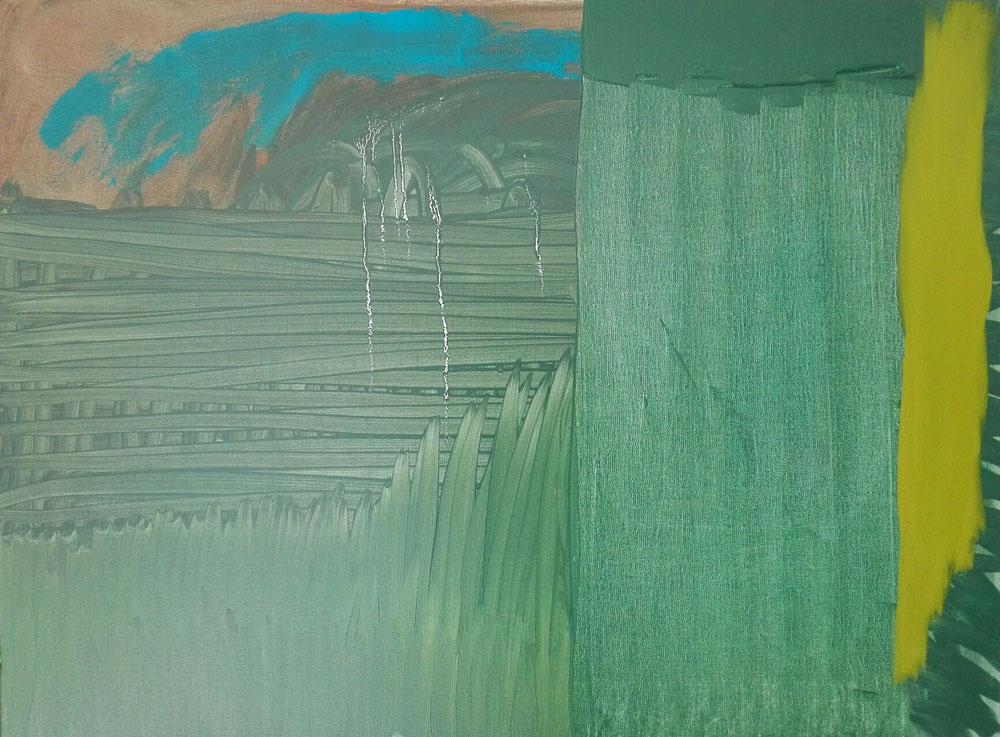 'Étang de Canet' - 2020 - Oil on linen canvas - 73x54 cm