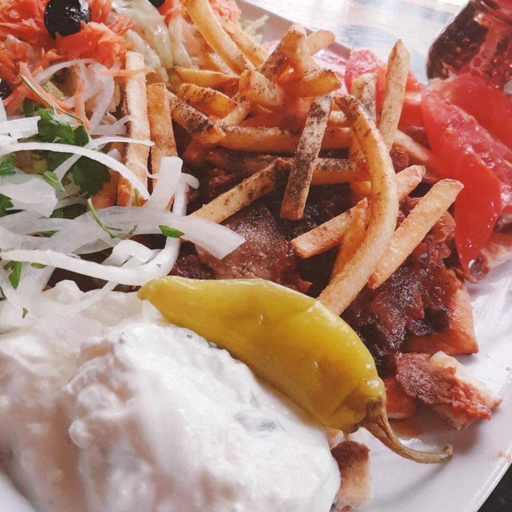 Iskender Kebab Art