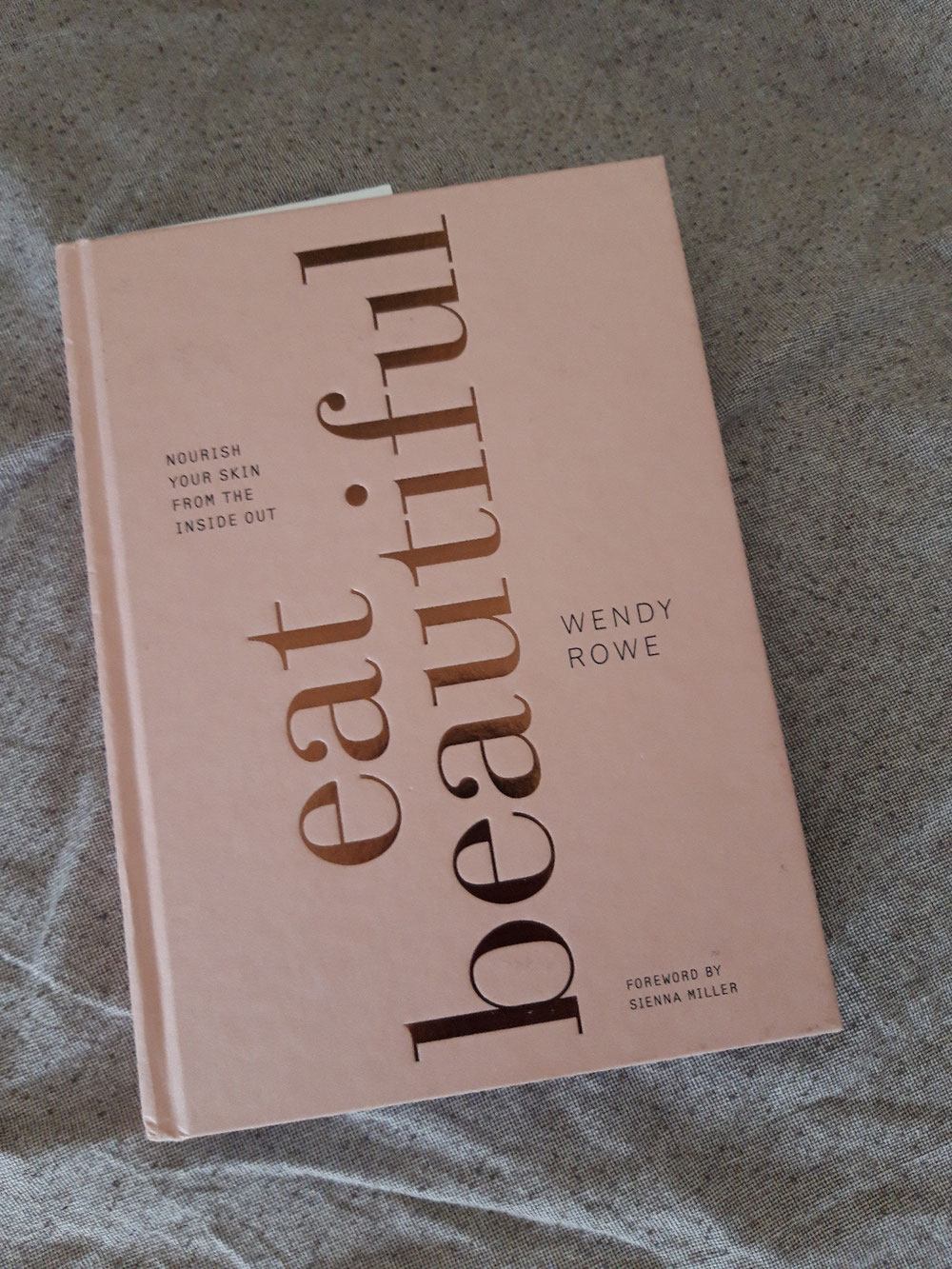 "One of my sources of inspiration regarding food: ""Eat beautiful"" by Wendy Rowe"