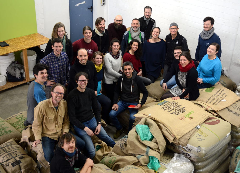 Roasters United Treffen in Kaarst, Februar 2020