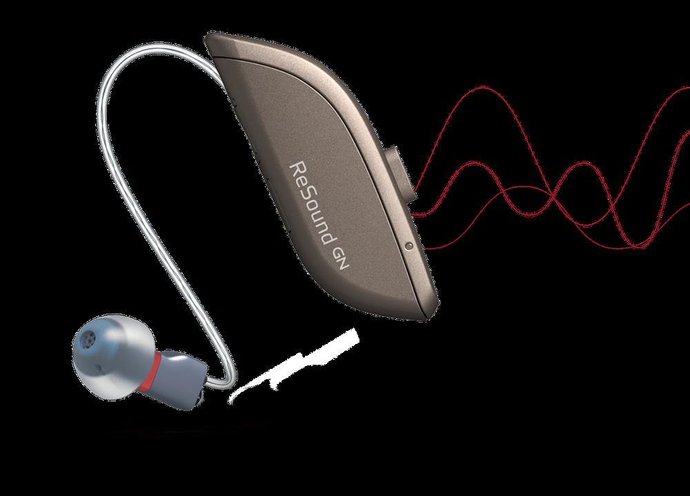Audífonos ReSound One, sonido natural, nueva tecnología M&RIE. Centro Auditivo Cuenca.
