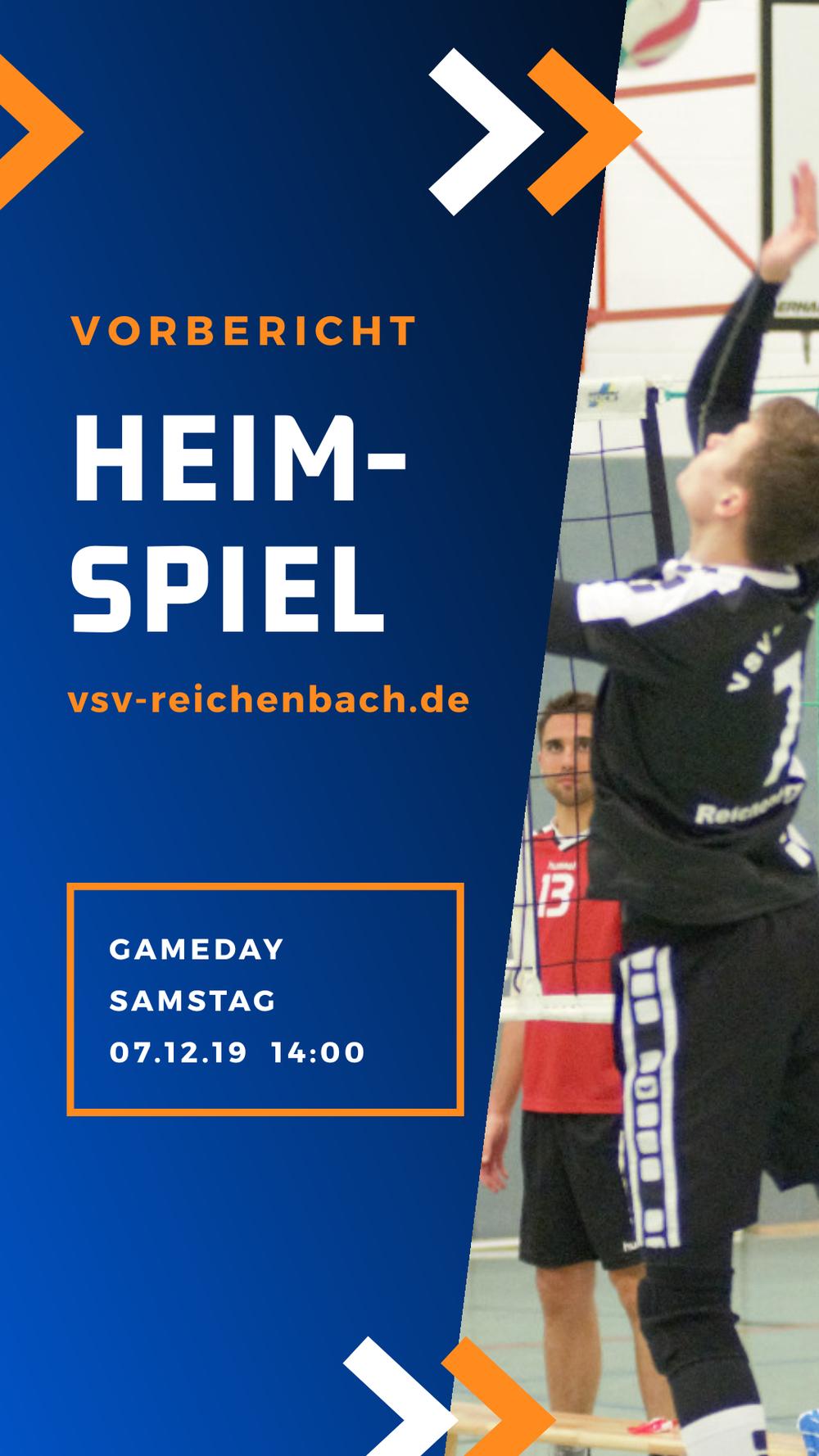 Heimspiel Sachsenklasse VSV Eintracht Reichenbach