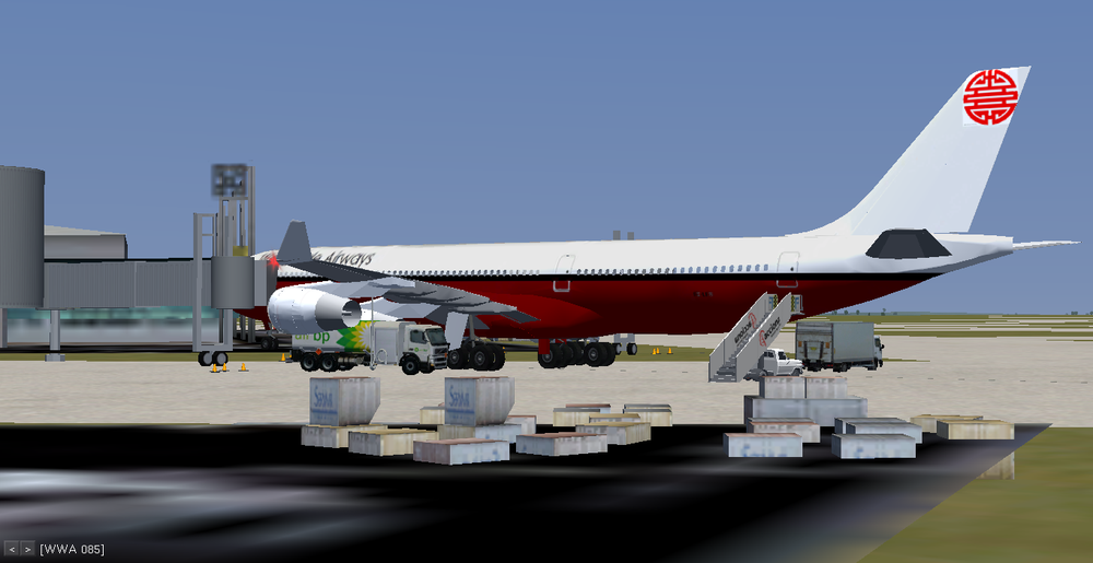 Refueling at the Paris CDG Terminal 1!