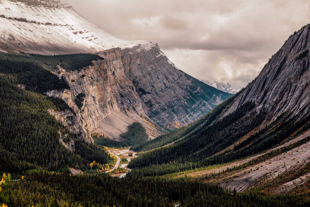 Cirrus Mountain Viewpoint. The complete travel guide to Icefields Parkway in Canada