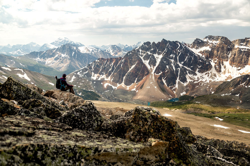 Indian Ridge. Best hikes in Jasper National Park