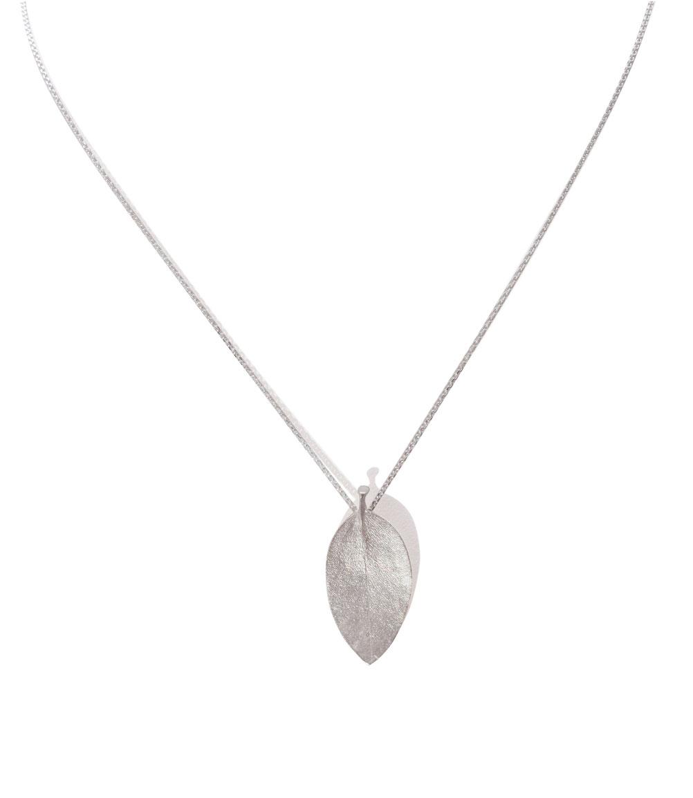 weddingpiece - eukalyptus - 925 sterlingsilber mit kette