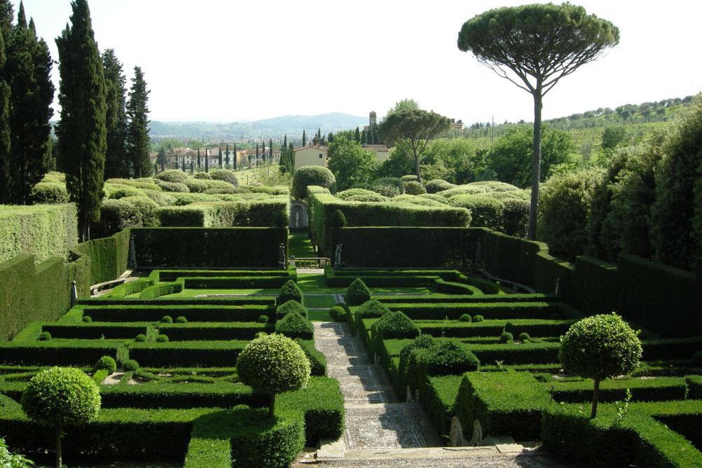 Connessioni Culturali: Giardino all'italiana