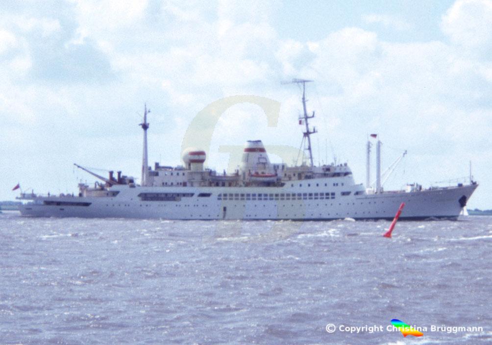 Russisches Forschungsschiff AKADEMIK KOROLYOV, 1983
