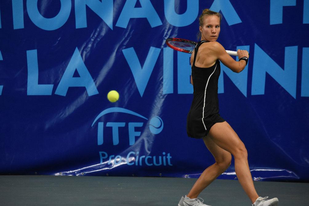 La Suissesse Viktorija Golubic s'est imposée en deux sets face à la tête de série 3, Schmiedlova.