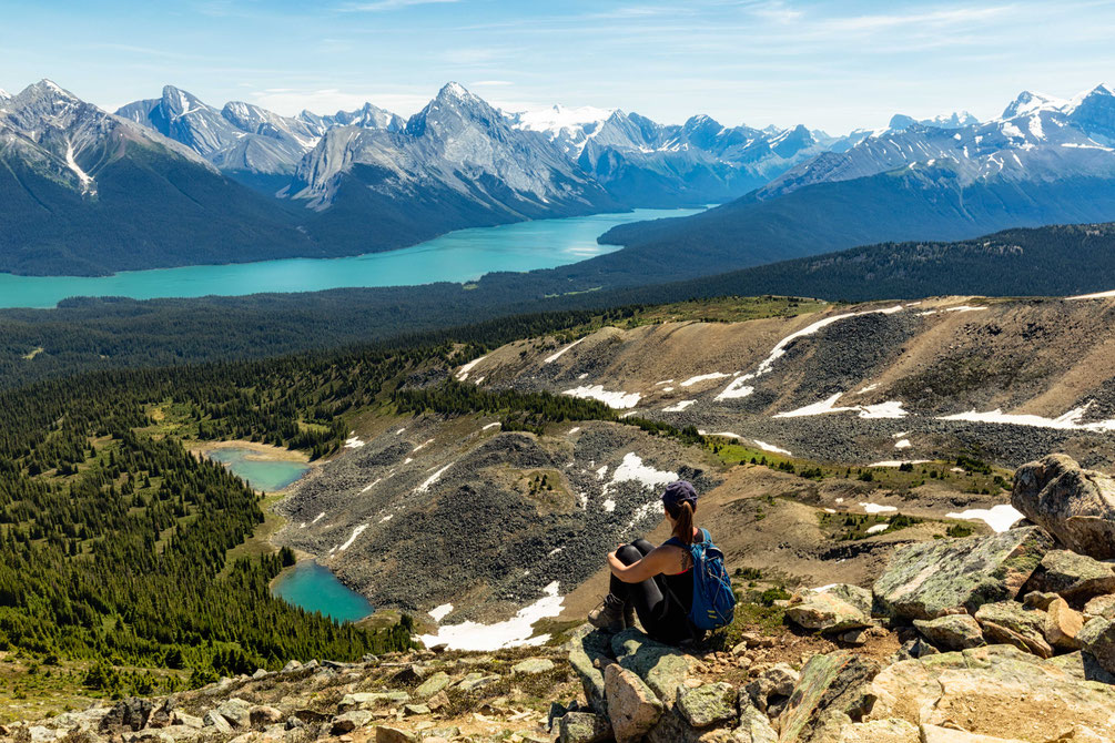 Bald Hills hike in Jasper National Park