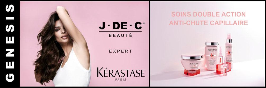 Genesis, Kérastase, Institut Kérastase, J DE C Coiffure, Coiffeur Marseille, Anti-chute Cheveux
