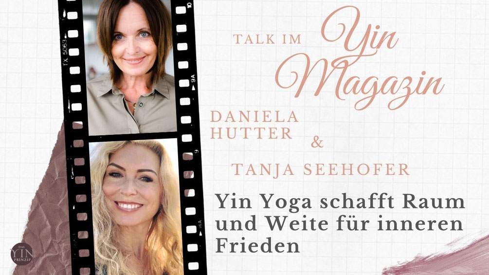 Daniela Hutter im Gespräch mit Stephanie Schönberger für den Podcast das Yinmagazin über Yoga als selbstbestimmte Lebensphilosophie