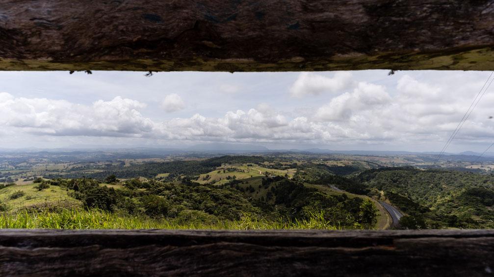 Lookout at Atherton Tablelands, Australia